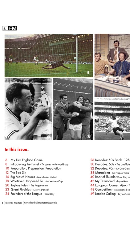 Football Masters Magazine screenshot-3