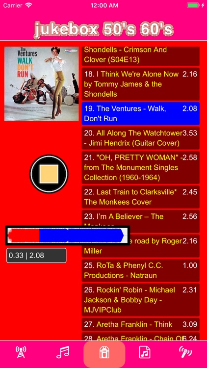 jukebox 50's & 60's screenshot-4