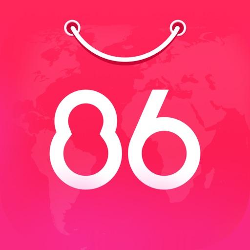 86华人商城 ---国内直邮,快至3天
