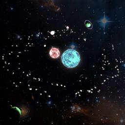 Ícone do app mySolar - Build your Planets
