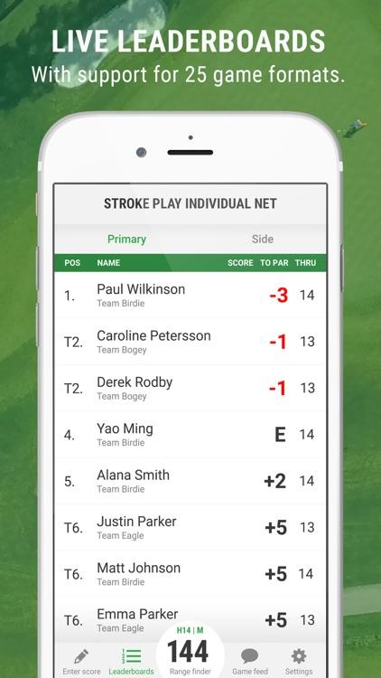Golf GameBook - Best Golf App screenshot-3