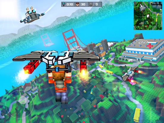 Pixel Gun 3D: Battle Royale на iPad