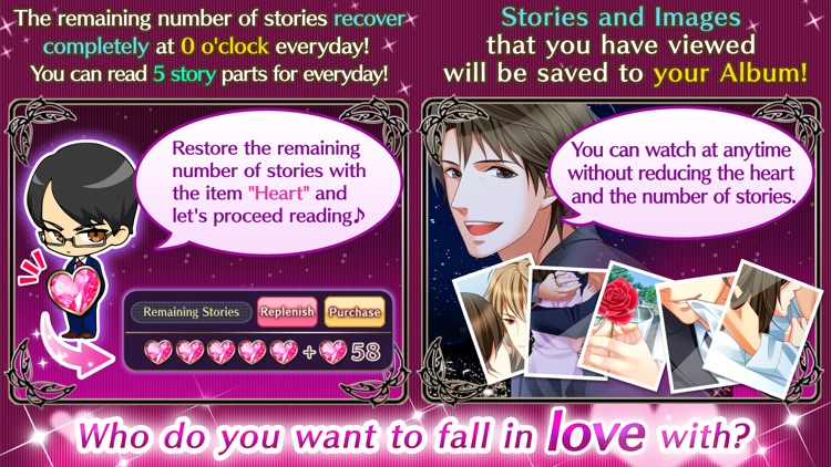 Forbidden Love otome games screenshot-4