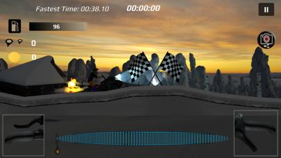 Sled Bandit - Snowmobile Game screenshot two