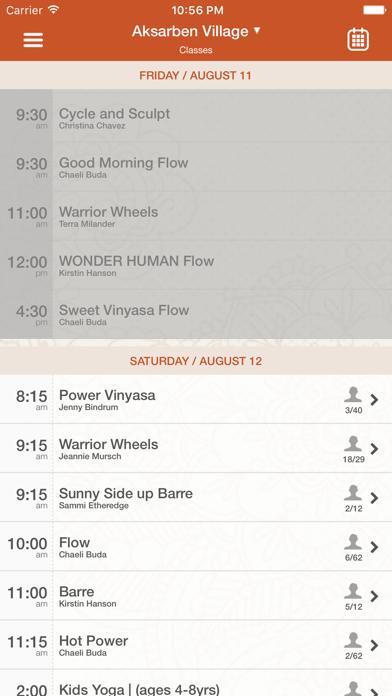 Lotus House of Yoga screenshot three