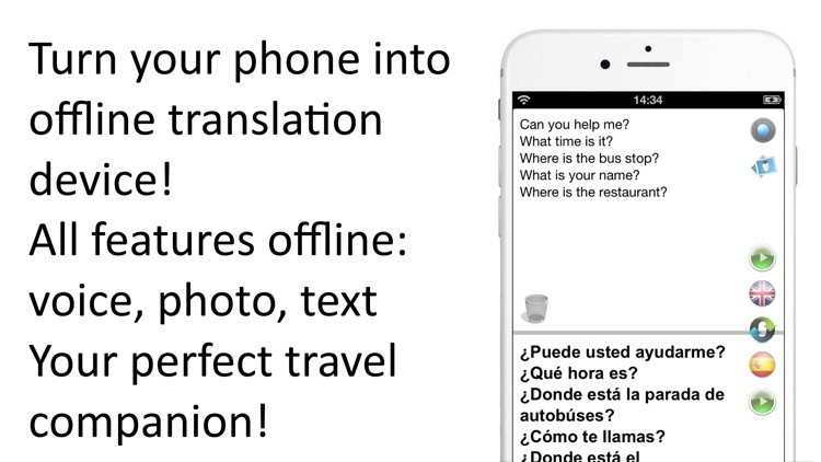 Offline Translator 8 languages