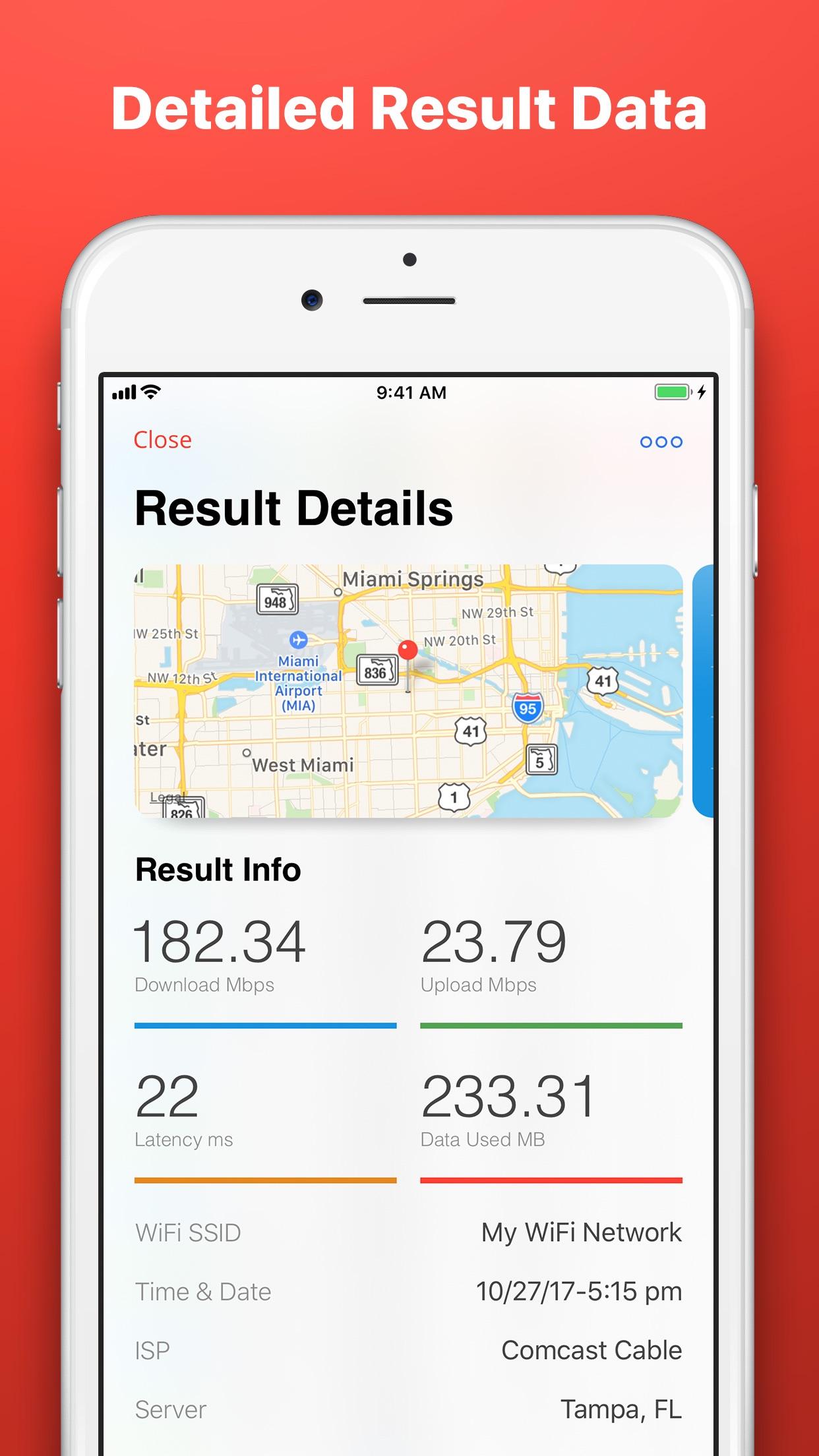 Speed Test SpeedSmart Internet Screenshot