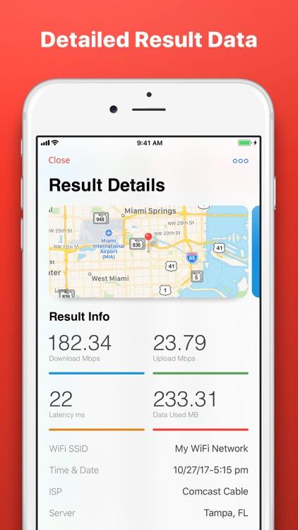 Speed Test SpeedSmart Internet screenshot-3