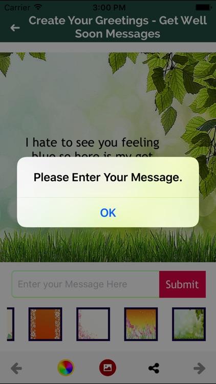 Get well Soon Greeting Maker screenshot-8