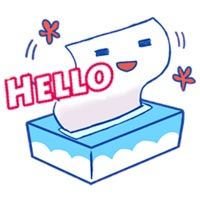 Tissue And Toilet Pape Sticker