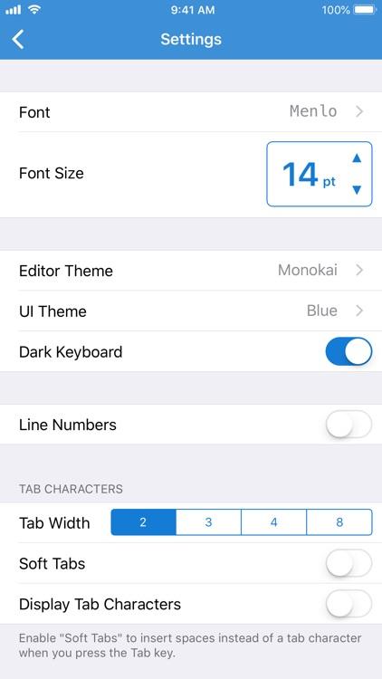 Textastic Code Editor 7 screenshot-3