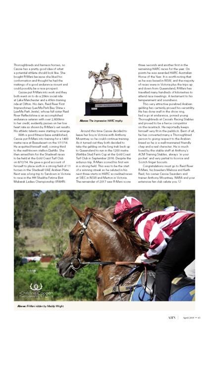 Australian Arabian Horse News screenshot-3