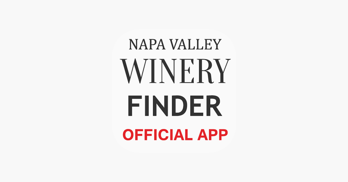 Napa Valley Winery Finder REAL On The App Store - Napa valley winery map and trip planner