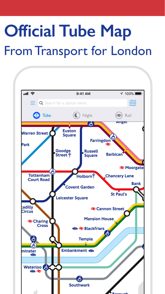 Tube Map - London Underground Screenshot