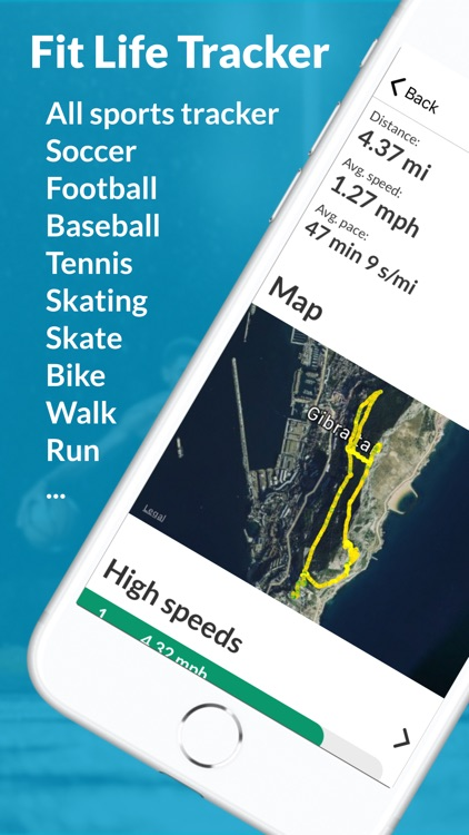 Fit Life Sports Tracker screenshot-0