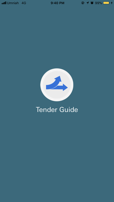 Tender Guide screenshot one