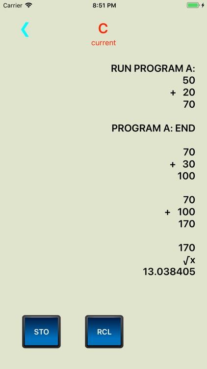Access RPN Calculator screenshot-4