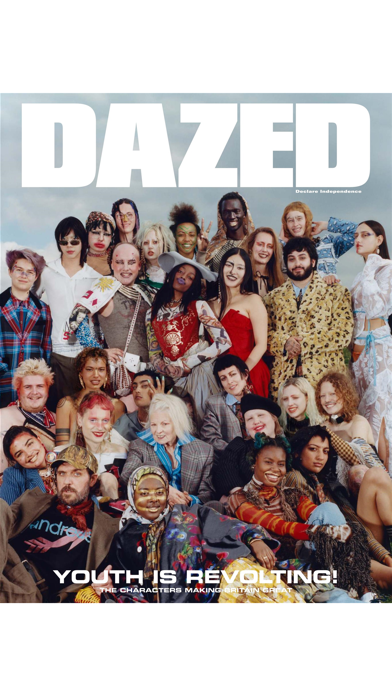 DAZED Magazine Screenshot