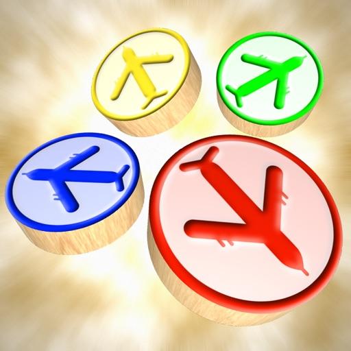 Ludo 3D : Aeroplane Chess icon