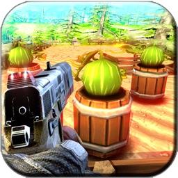 Expert Shooting Watermelon