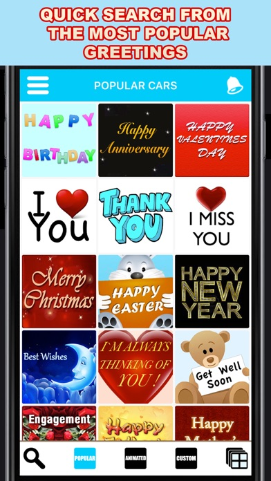 Screenshot for Greeting Cards App - Pro in United States App Store
