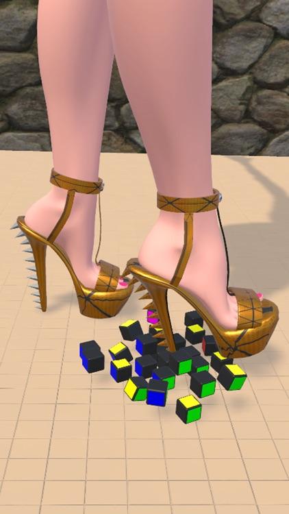 Shoe Crushing! Satisfying Art screenshot-4
