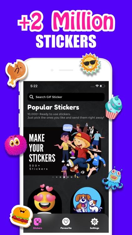Sticker & Avatar Maker App