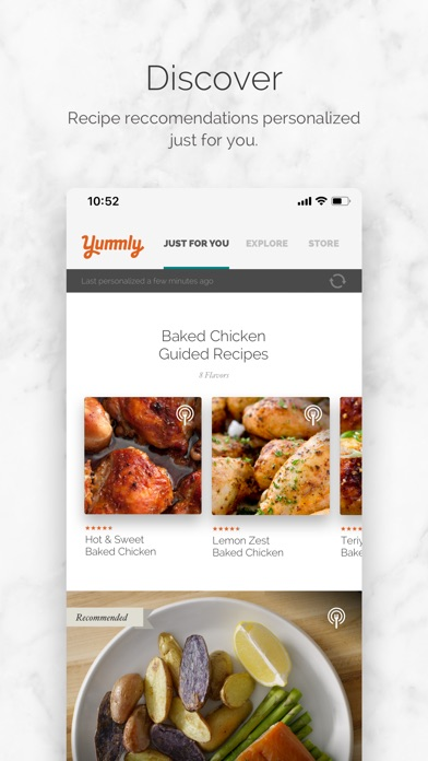 Yummly Recipes + Shopping List for Windows