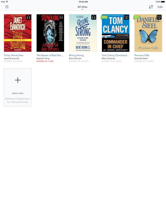 OverDrive: eBooks & audiobooksのおすすめ画像2