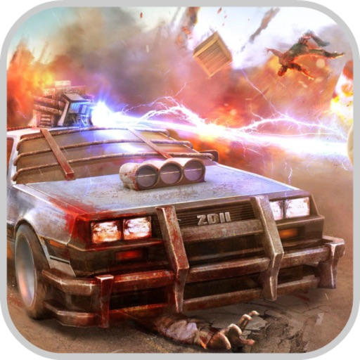 Crazy Dead Car: Zombie Kill iOS App