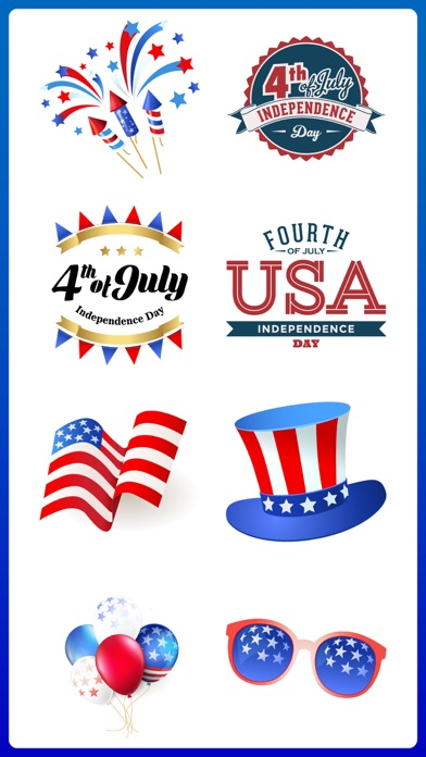 USA Happy Independence Day App screenshot one