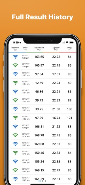 Speedsmart speed test internet on the app store greentooth Image collections