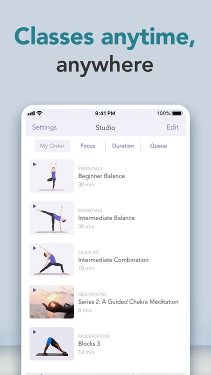 Yoga Studio: At-home classes screenshot-7