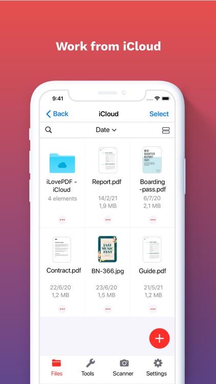 iLovePDF - PDF Editor & Scan screenshot-8