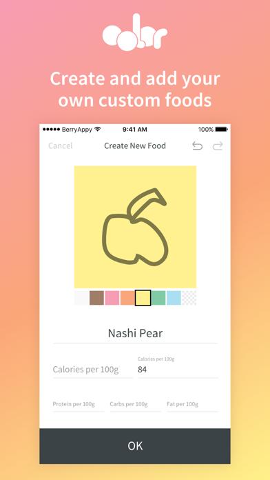 Color Food DiaryScreenshot of 4