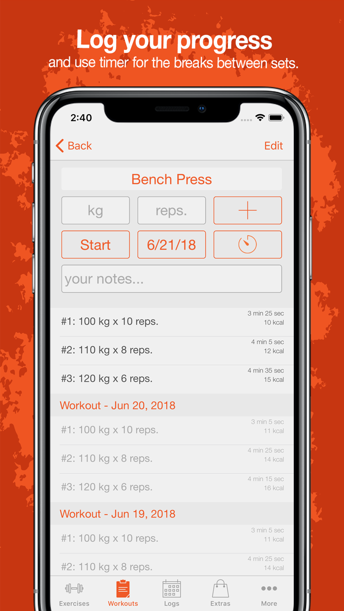 Fitness Point Screenshot