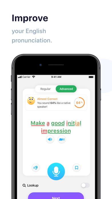 英語発音を確実に改善するアプリ-ELSA Speakのおすすめ画像1