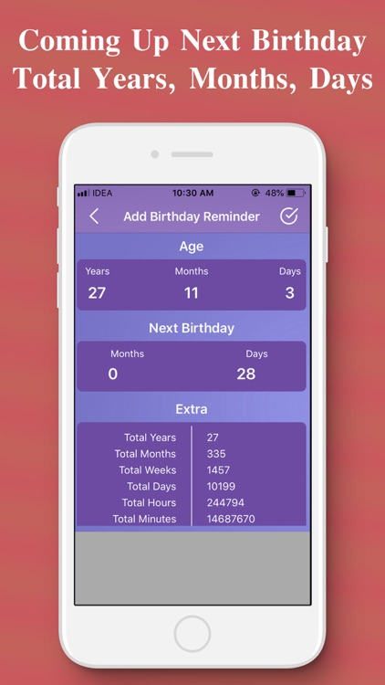 Age Calculator - Find Your Age screenshot-4