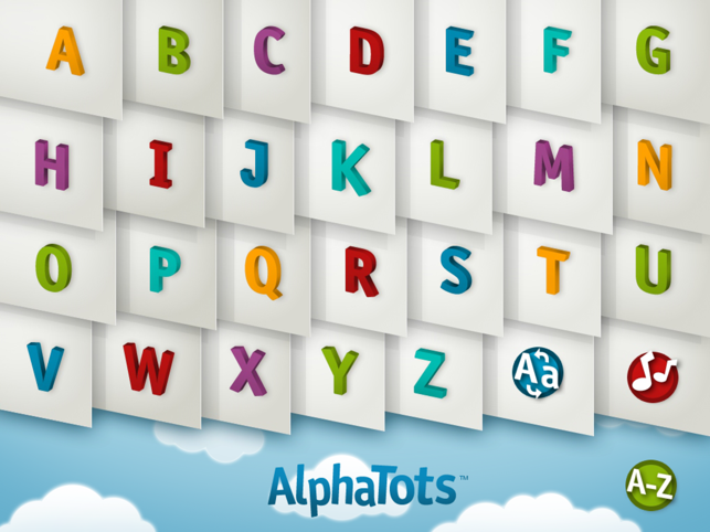 AlphaTots Alphabet Screenshot