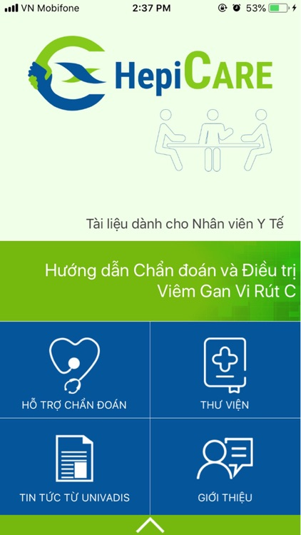 HepiCARE: Chẩn đoán VGSV C HCV screenshot-0