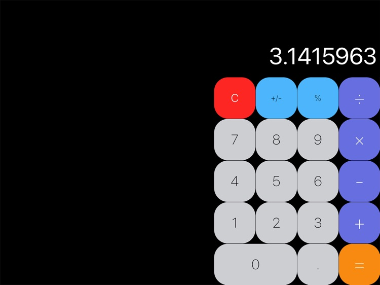 MyCalculator for iPad
