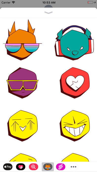 Studio Killers Emoji SetScreenshot of 2