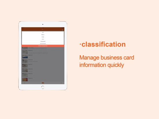 Business card scanner wecard app price drops screenshot 4 for business card scanner wecard reheart