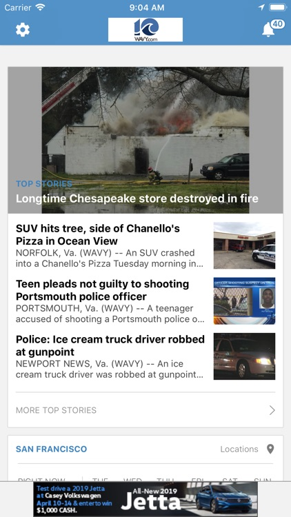WAVY TV 10 - Norfolk, VA News