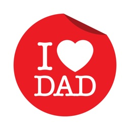 Happy Father's Day Sticker Emo