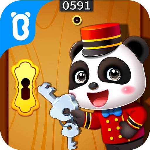 パンダの旅館ごっこ-BabyBus子供・幼児向け脳トレゲーム