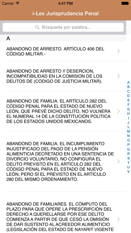 i-Lex Jurisprudencia Penal screenshot-0
