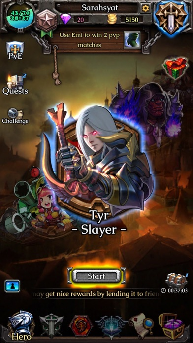 Screenshot 3 Heroes of Arzar