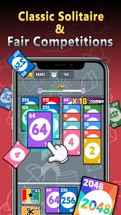 Stack Card 2048: Cash Prizes screenshot 1