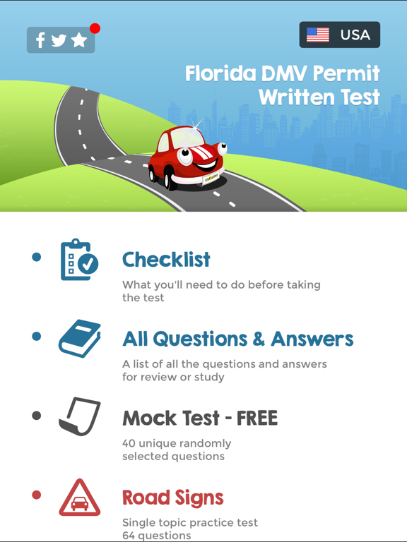 Permit Test Florida >> Florida Driving Permit Test App Price Drops